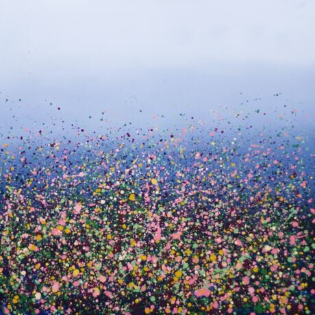 Sophie Berger – Down a country lane – 100 x 100 cm